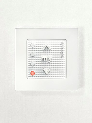 Four Channel Smoove Origin 4 RTS White Wall Switch