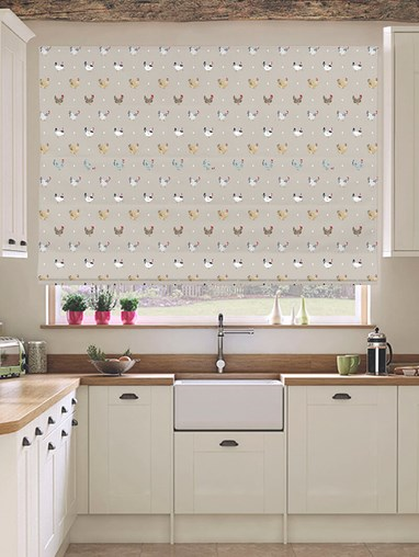 Sophie Allport Lay A Little Egg Electric Roman Blind