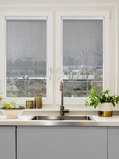 Stone Weave 5% Sunscreen Perfect Fit Roller Blind