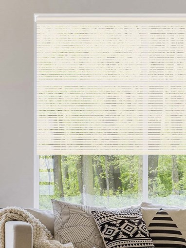 Stratus Cream Sheer Electric Roller Blind