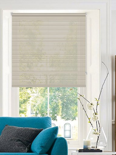 Stratus Sheer Grey Roller Blind