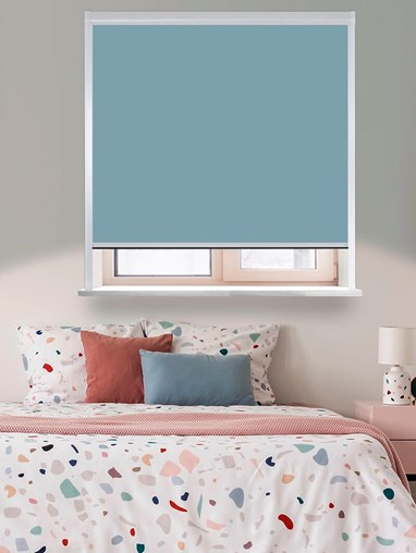 Classic Coastal Shores Total Blackout Roller Blind