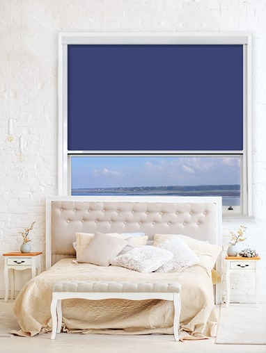 Stoneybrook Chain Operated Total Blackout Roller Blind | For Extra Large Windows