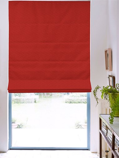Tribeca Oxblood Blackout Roman Blind