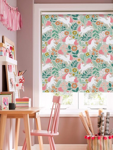 Unicorn Adventure Blackout Roller Blind