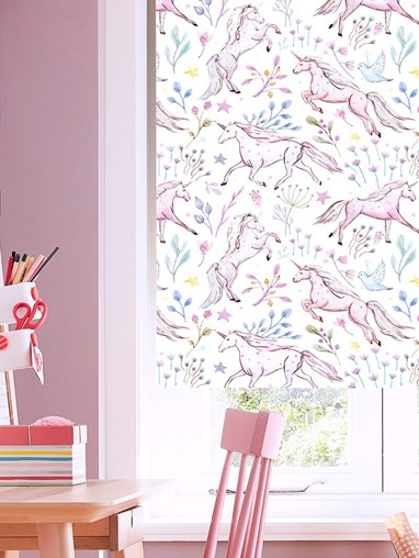 Unicorn Meadow Blackout Roller Blind