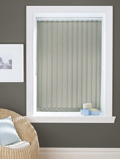 Grey Owl Dim-Out 89mm Vertical Blind Replacement Slats