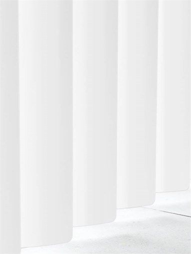 Matte White Rigid PVC 89mm Vertical Blind