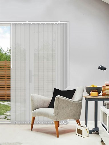 Horizon Metal 89mm Sunscreen Vertical Blind