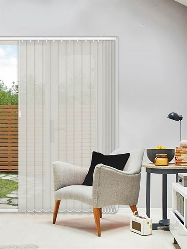 Horizon Pebble 89mm Sunscreen Vertical Blind