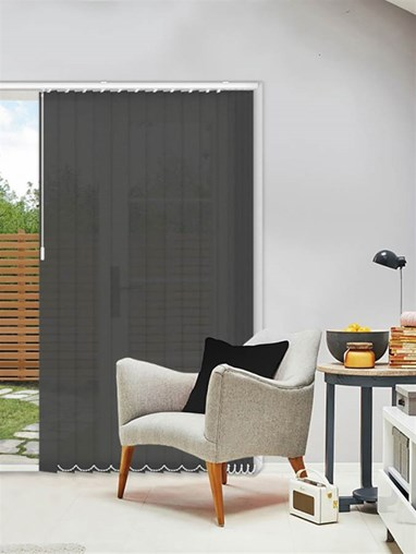 Horizon Skyfall 89mm Sunscreen Vertical Blind