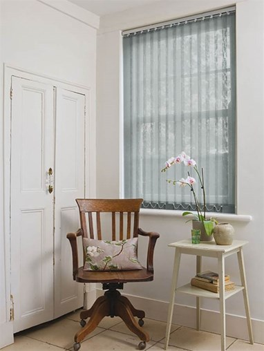 Owlet 89mm Sheer Vertical Blind