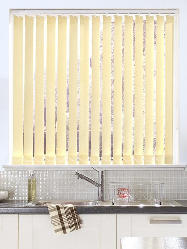 Beige 89mm Dim-Out Vertical Blind