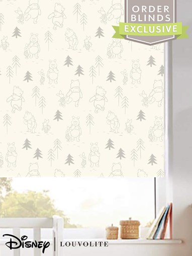 Disney Winnie The Pooh Blackout Electric Roller Blind