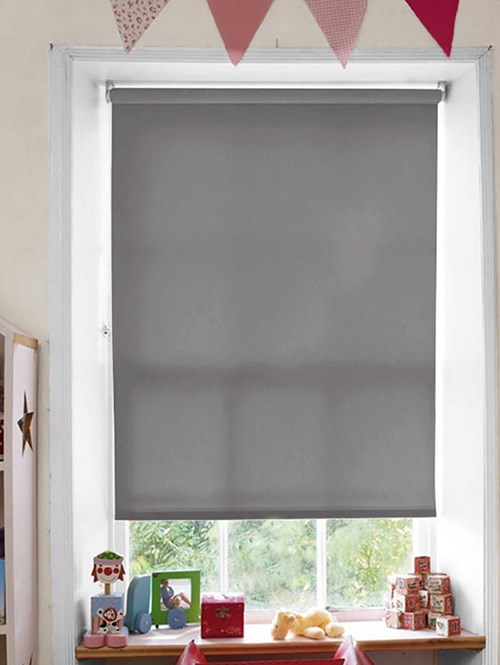 Ash Daylight Electric Roller Blind