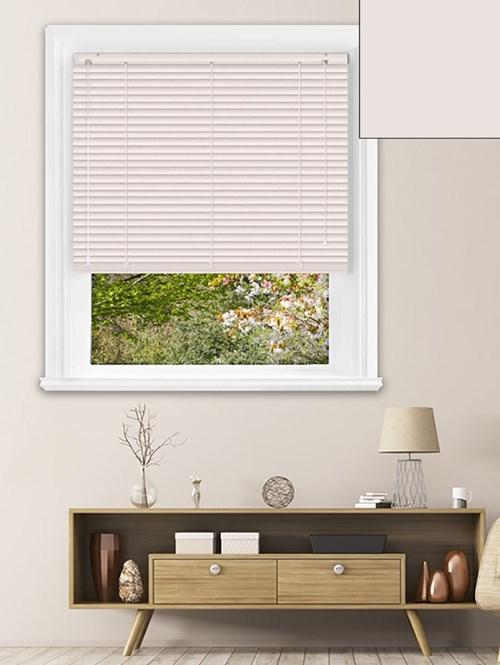 Matte Magnolia 25mm Aluminium Venetian Blind