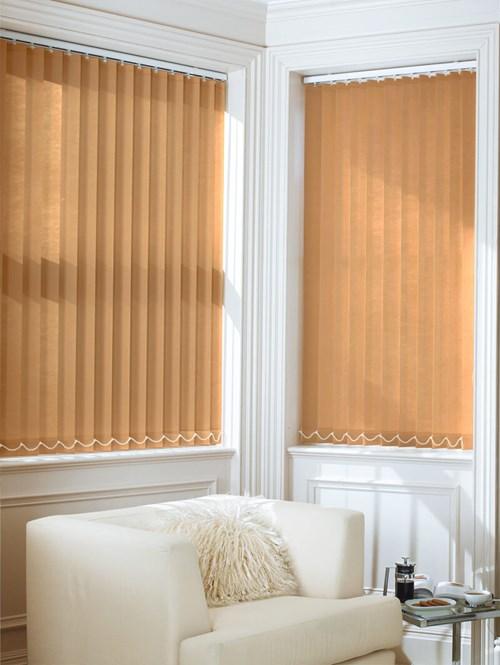 Bronze 89mm Daylight Vertical Blind