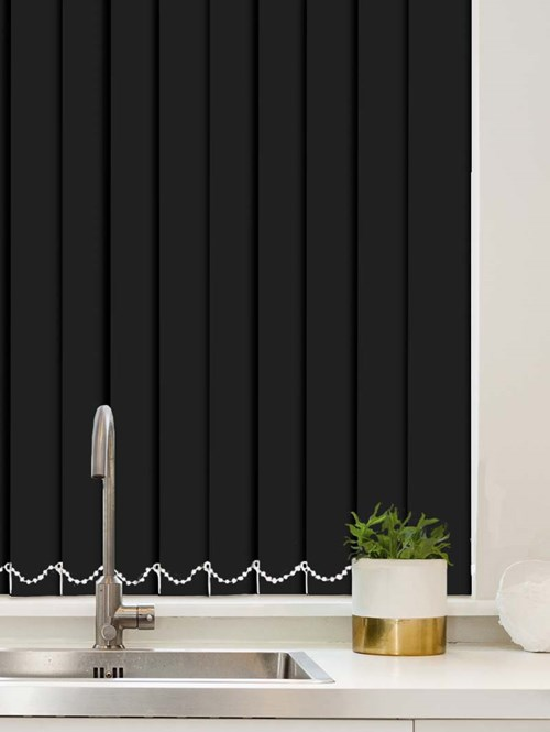 Crow Waterproof 89mm Vertical Blind