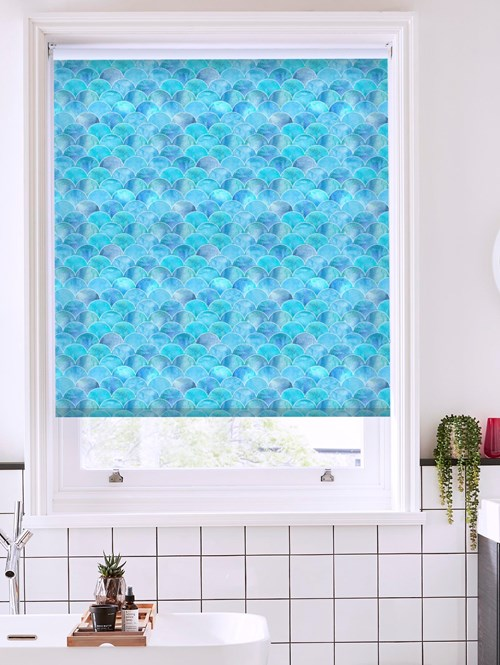 Fish Scales Roller Blind