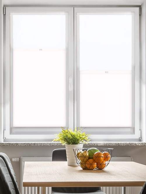Daylight Carnation White Perfect Fit Bottom Up Blind