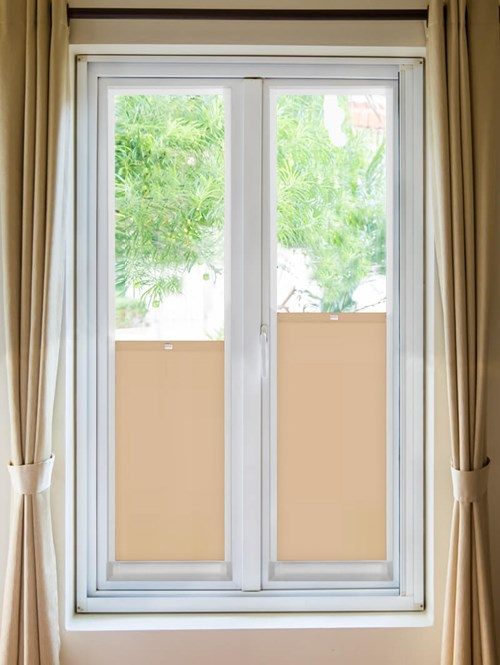 Daylight Cookie Crumb Perfect Fit Bottom Up Blind