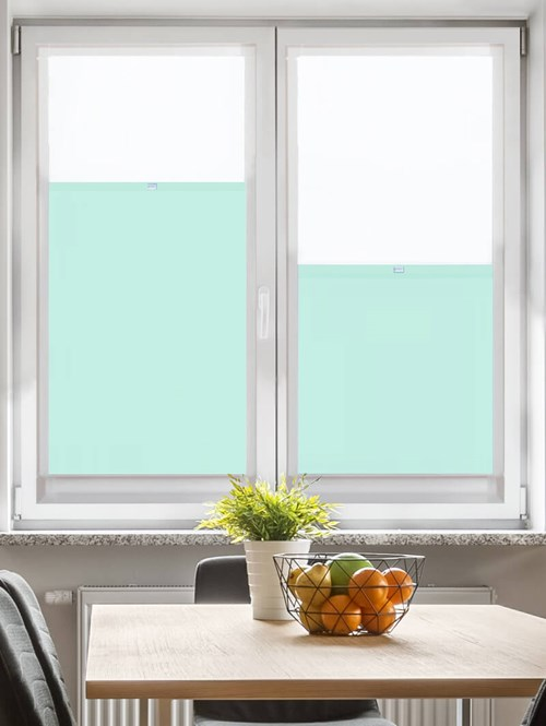 Daylight Mint Cream Perfect Fit Bottom Up Blind