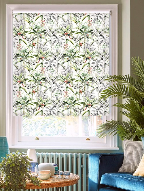 Ecuador Natural Daylight Electric Roller Blind by Boon & Blake