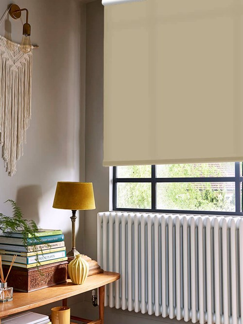 Buttered Toast Daylight Electric Roller Blind