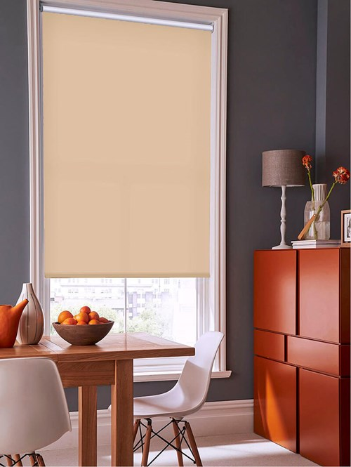 Cookie Crumb Daylight Electric Roller Blind