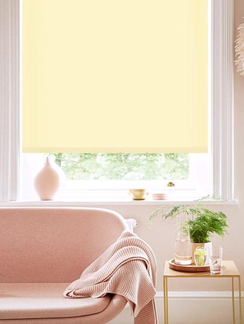 Cream Tea Daylight Electric Roller Blind
