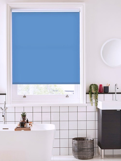 Larkspur Daylight Electric Roller Blind