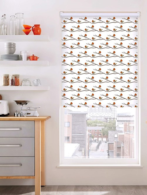 Robin Electric Roller Blind by Lorna Syson