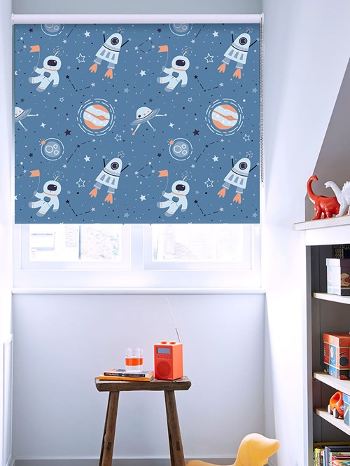 One Small Step Blackout Roller Blind