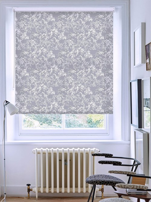 Arla Grey Roller Blind by Lorna Syson