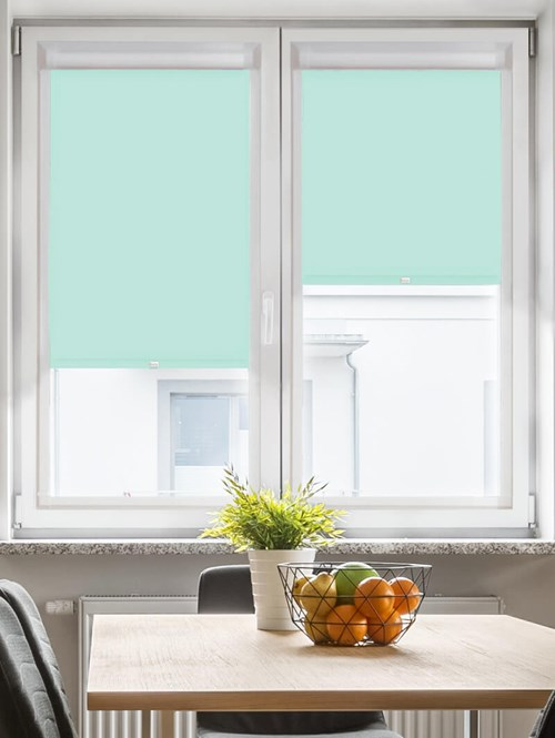 Daylight Mint Cream Perfect Fit Roller Blind