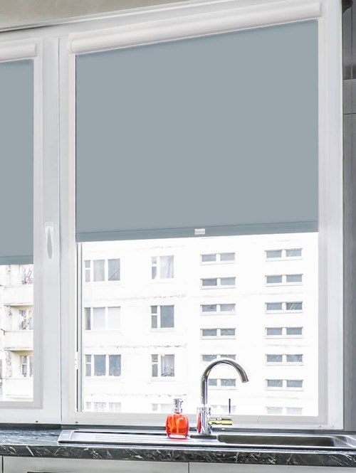 Daylight Sardine Grey Perfect Fit Roller Blind