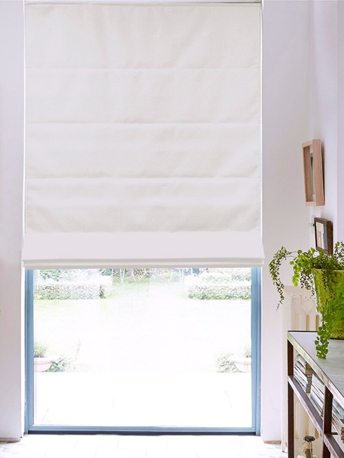 Edelweiss Electric Roman Blind