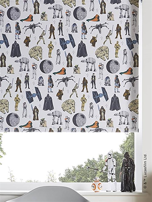 Star Wars™ Characters Blackout Roller Blind