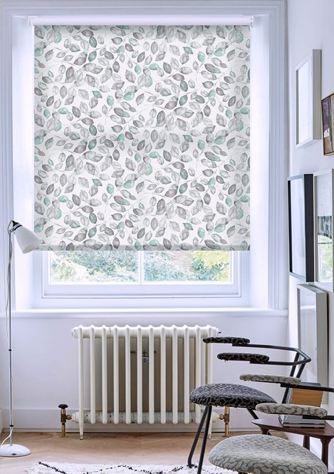 Tranquility Beauty Patterned Daylight Electric Roller Blind