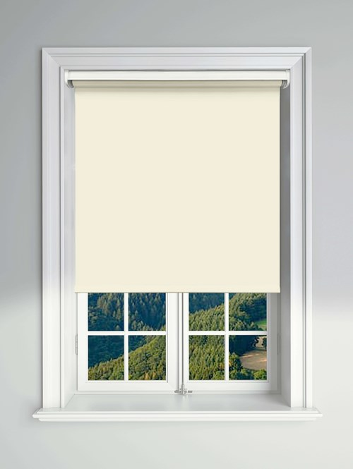 Essential Frosting Electric Blackout Roller Blind