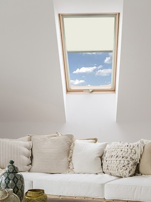 Classic Ivory Blackout Skylight Blind For Fakro Windows