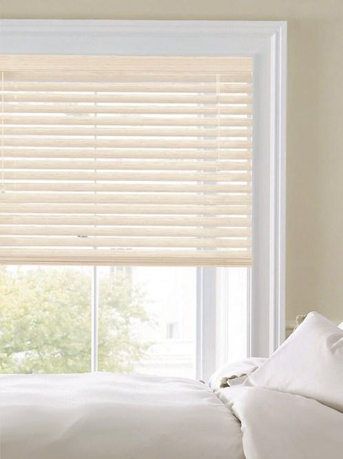 Woodgrain Blush White 50mm Faux Wood Venetian Blind