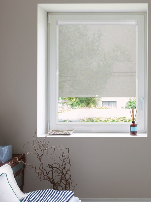 Grey 3% Sunscreen Perfect Fit Roller Blind