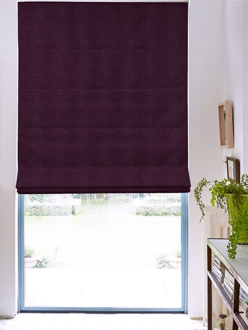 Hampton Regal Blackout Electric Roman Blind