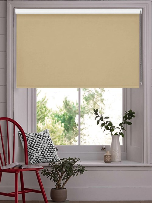 Hemp Seed Blackout Thermal Roller Blind