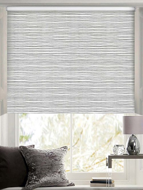 Horizon Patterned Daylight Electric Roller Blind