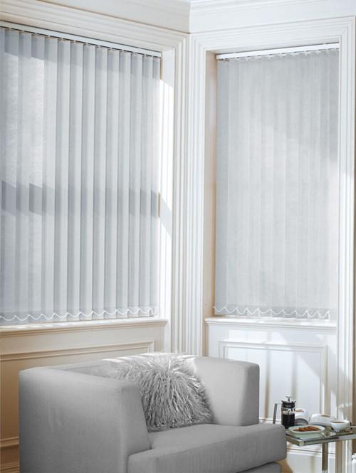 Light Grey 89mm Daylight Vertical Blind