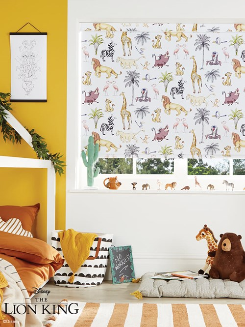 Disney The Lion King Safari Blackout Roller Blind