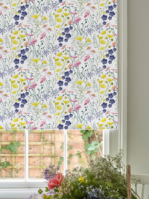 Meadow Roller Blind by Lorna Syson