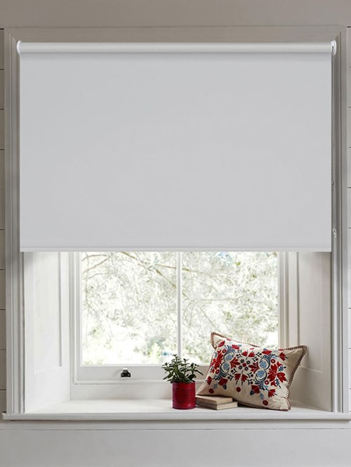 Magnetic Grey Blackout Thermal Roller Blind